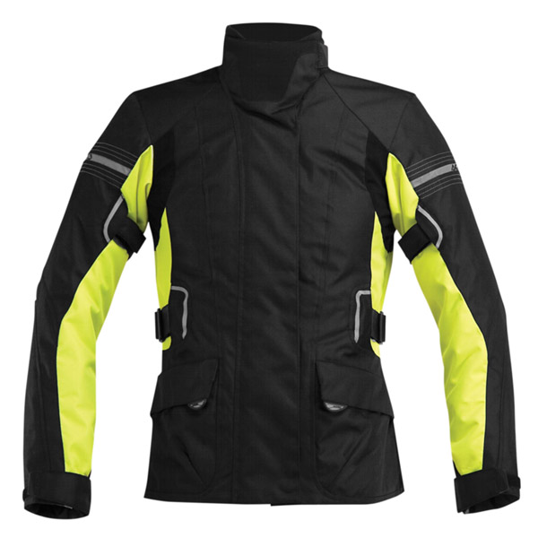 Motorcycle jacket Acerbis Bray Hill High Visibility