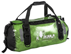 Amphibious Waterproof Bag Clear 60 Green Voyager