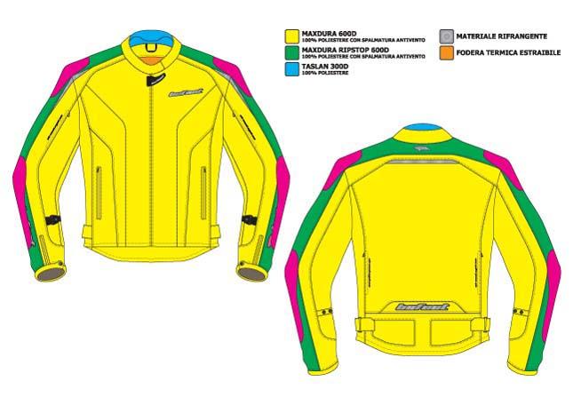 BEFAST Climath Lady Textile Jacket 3 layers