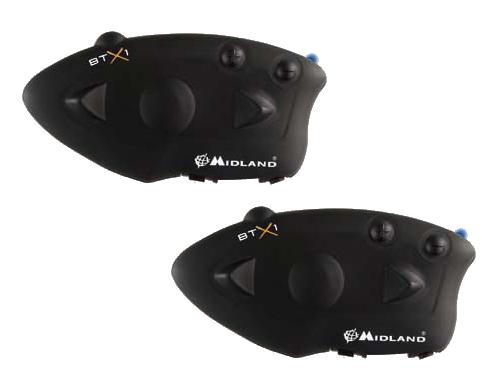 Midland BTX1 Twin Bluetooth Intercom System for 2 helmets