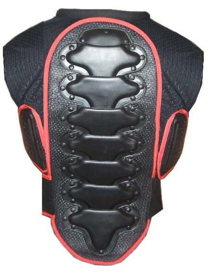 Corpetto con supporti protettivi torace e schiena
