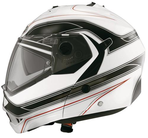 Caberg DUKE BOOSTER flip-off helmet White-Black
