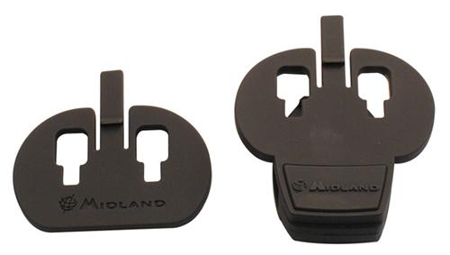 Doppio kit di fissaggio al casco Midland per BT Next, BTX1,BTX2