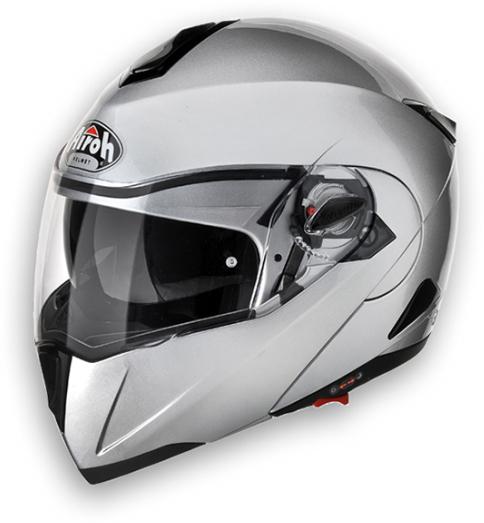 Airoh C-100 Color modular helmet silver metal P-J