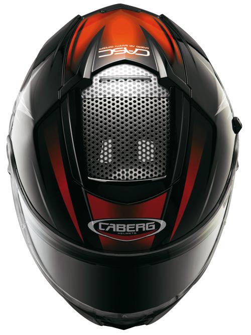 Casco moto Caberg EGO KUMA Nero-Rosso