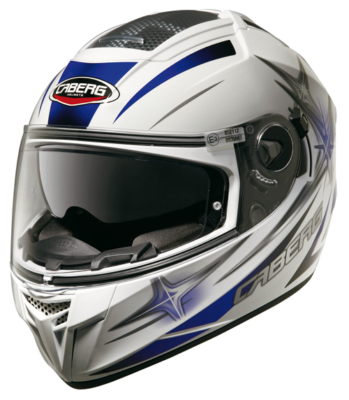 Caberg EGO KUMA full face helmet White-Blue
