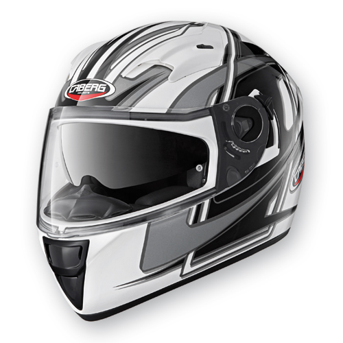 Full Face Helmet Caberg Vox Speed ??White Black