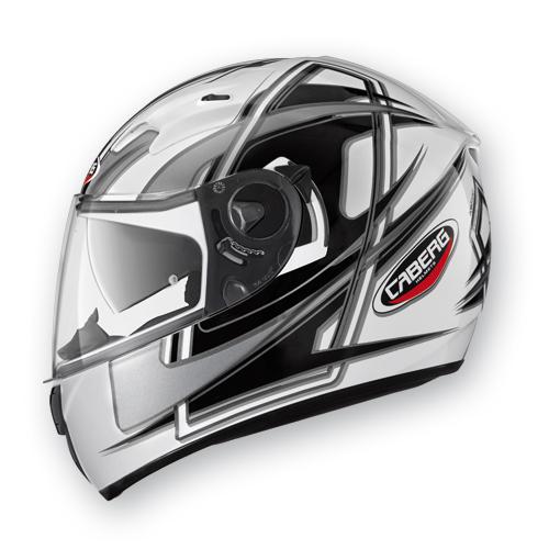 Full Face Helmet Caberg Vox Speed ??White Black