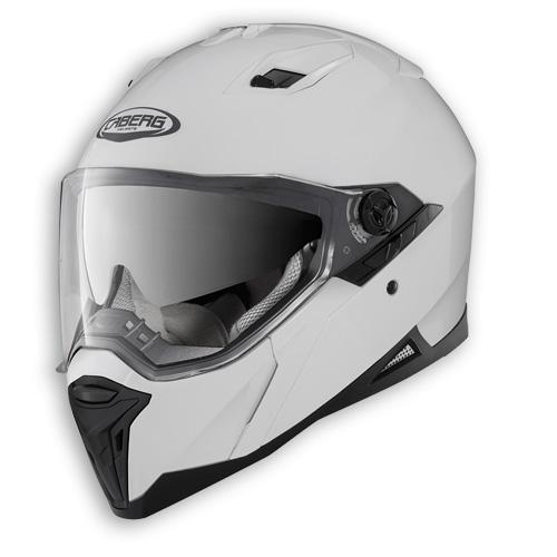 Face helmet Caberg Stunt white