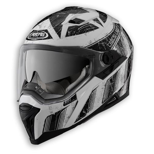 Face helmet Caberg Stunt Steez white black
