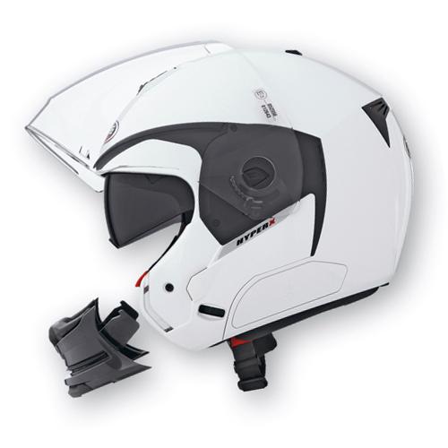Caberg Hyper-X modular helmet White