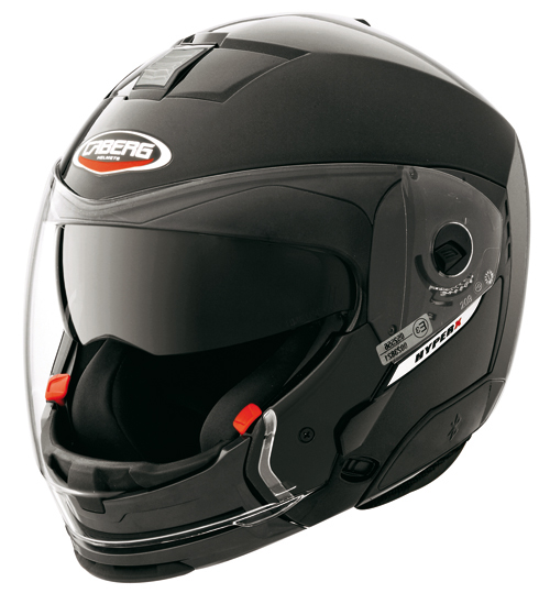 Caberg HYPER-X Smart  crossover helmet Black