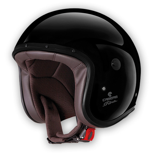 Jet Helmet Caberg Freeride black painted