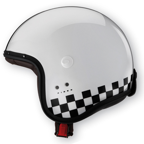 Caberg Freeride Indy jet helmet White Black