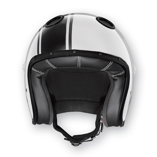 Caberg Jet Helmet White Black Doom Legend