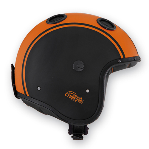 Caberg Doom Legend jet helmet matte Black Orange