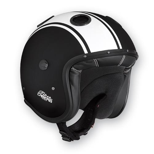 Caberg Doom Legend jet helmet matte Black White