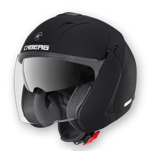 Casco jet Caberg Downtown S BT NL Nero opaco