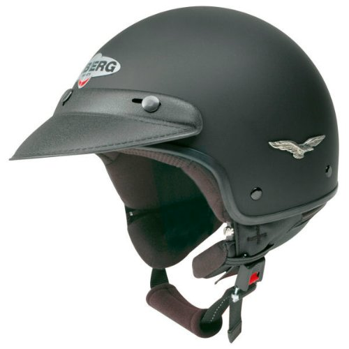 Caberg Freedom jet helmet Matte Black Red