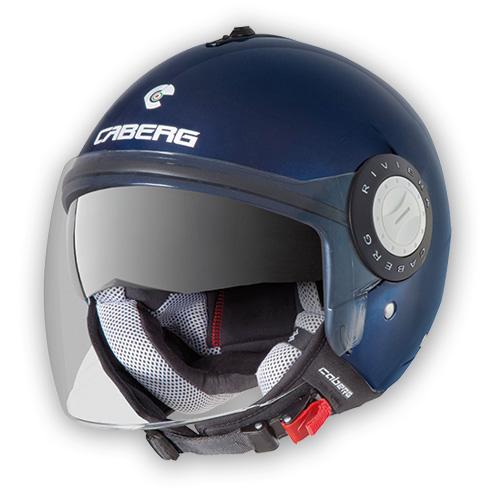 Jet Helmet Caberg Riviera V2 midnight blue
