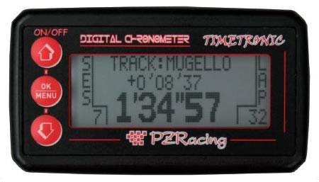 Cronometro digitale moto IR TimeTronic batteria 12V