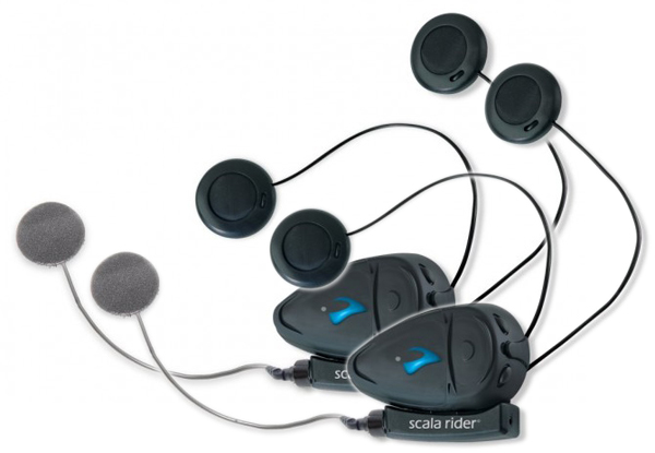 Scala Rider Q2 Multiset couple intercoms Pro Corded