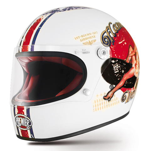 Casco integrale Premier Trophy Pin Up 8 BM