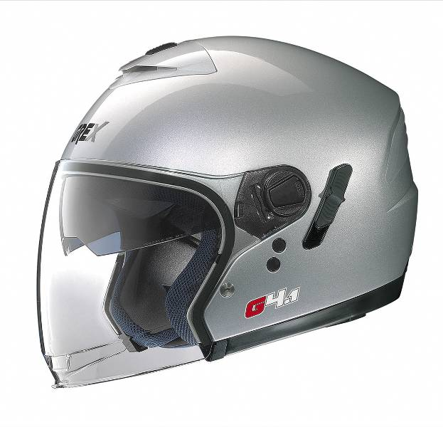 Casco jet Grex G4.1 Kinetic Argento