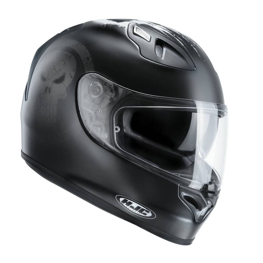 Casco integrale HJC FG ST Marvel Punisher MC5SF Nero Bianco