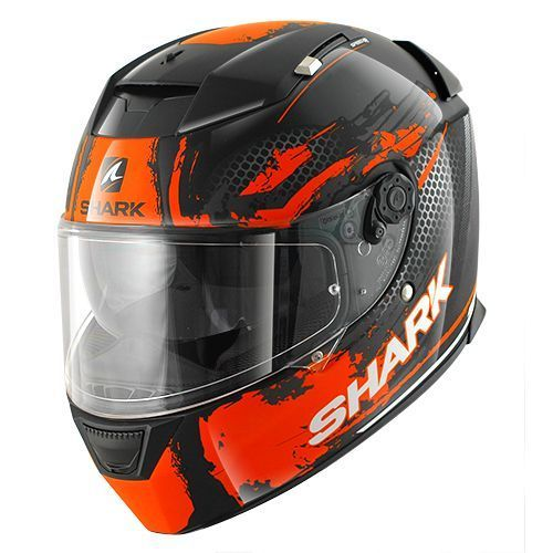 Casco integrale Shark SPEED-R 2 DUKE Nero Arancio