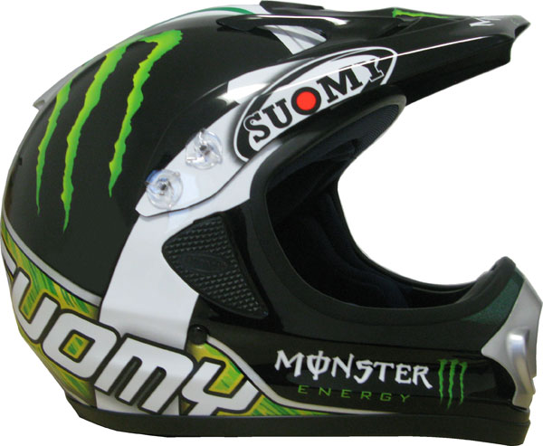 Cross helmet Suomy Spectre Sy Monster Replica
