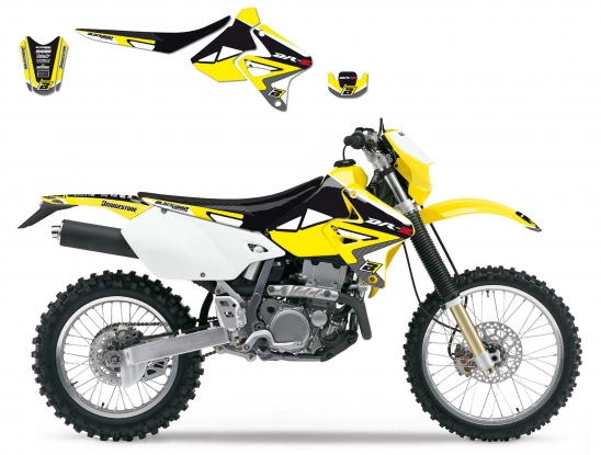 Kit adesivi e coprisella Blackbird Racing per Suzuki Dream 2