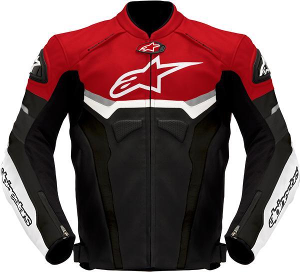 Alpinestars Celer leather jacket black-red-anthracite