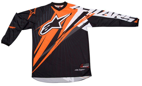Alpinestars Charger Spiker Jersey black-orange