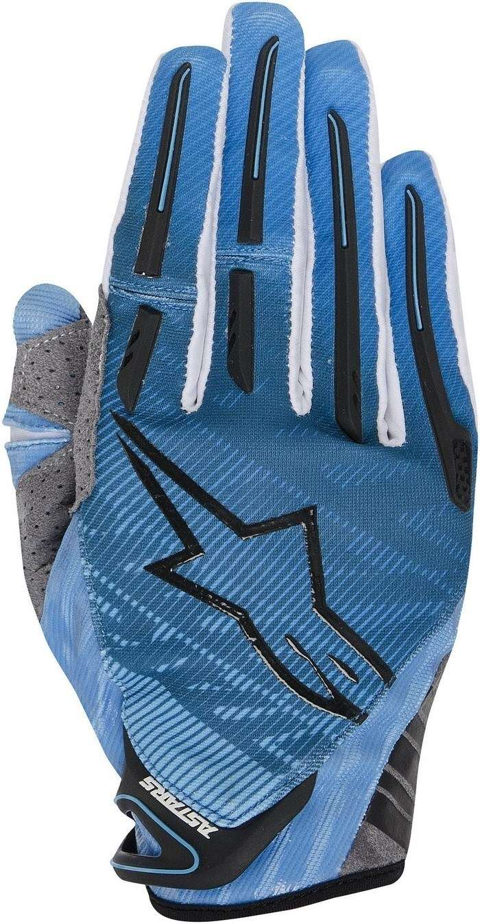 Alpinestars Charger 2014 offroad gloves blue cyan