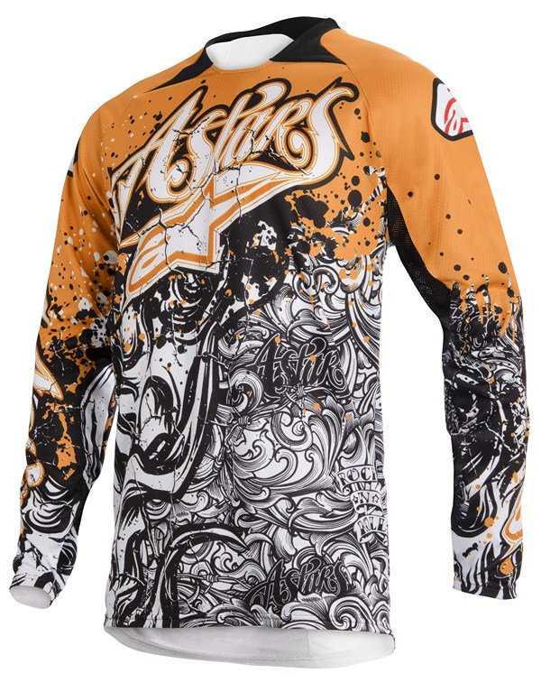 Alpinestars Charger Youth jersey orange black white
