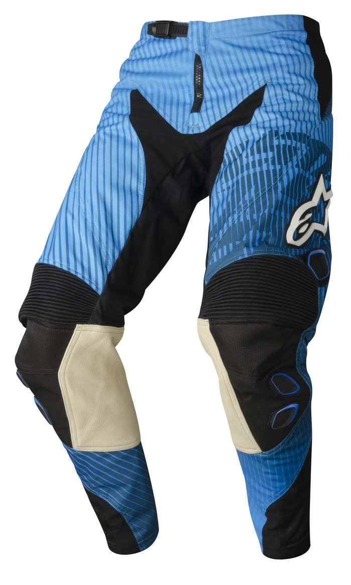Alpinestars Charger 2014 offroad pants blue cyan