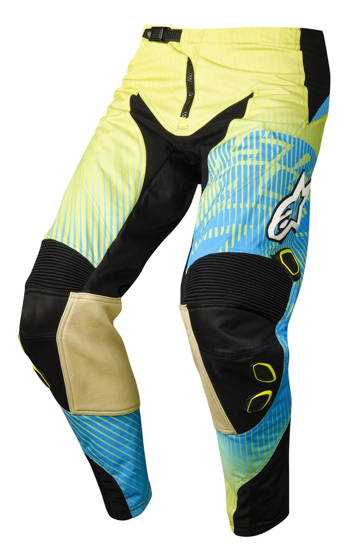 Alpinestars Charger 2014 offroad pants lime green cyan