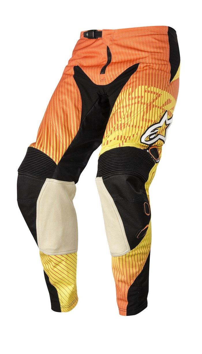Alpinestars Charger 2014 offroad pants orange red yellow