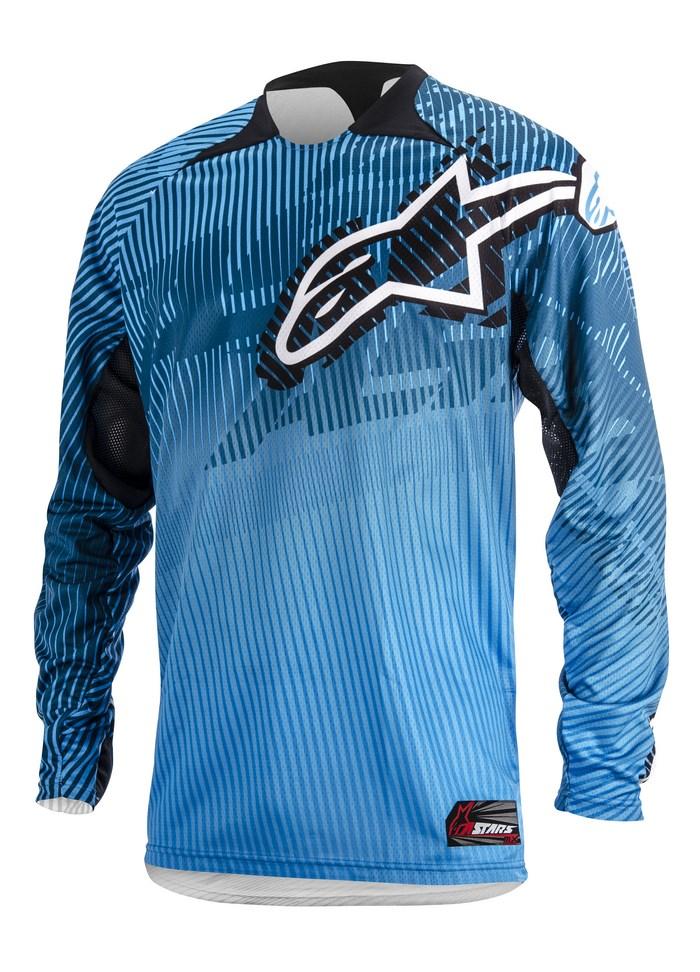 Alpinestars Charger 2014 offroad jersey blue cyan