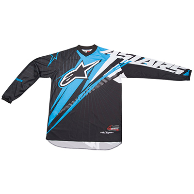 Alpinestars Charger Spiker enduro jersey black-blu