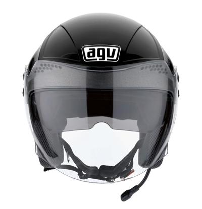 AGV Citylight Connect Open Face Helmet - Col. Gloss Black