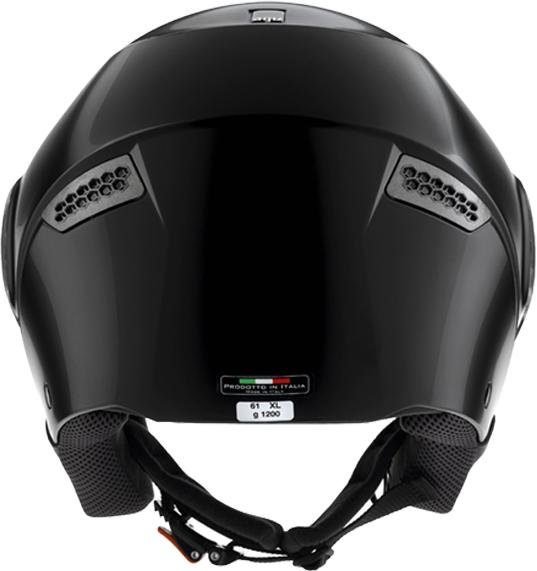 Agv Citylight mono open face helmet black gloss