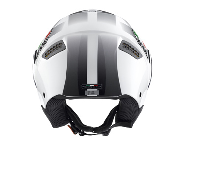 AGV Citylight Multi Race Open Face Helmet - Col. White/Black
