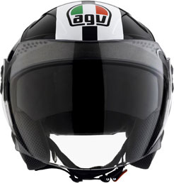 Casco moto Agv Citylight Multi Race nero-bianco