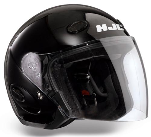 HJC CL33 jet helmet Gloss Black