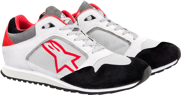 Alpinestars Classic Casual shoes white-red