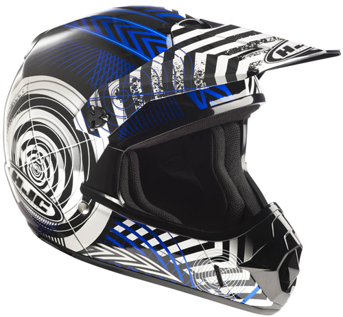 HJC CLXY Wanted MC2 off road kid helmet