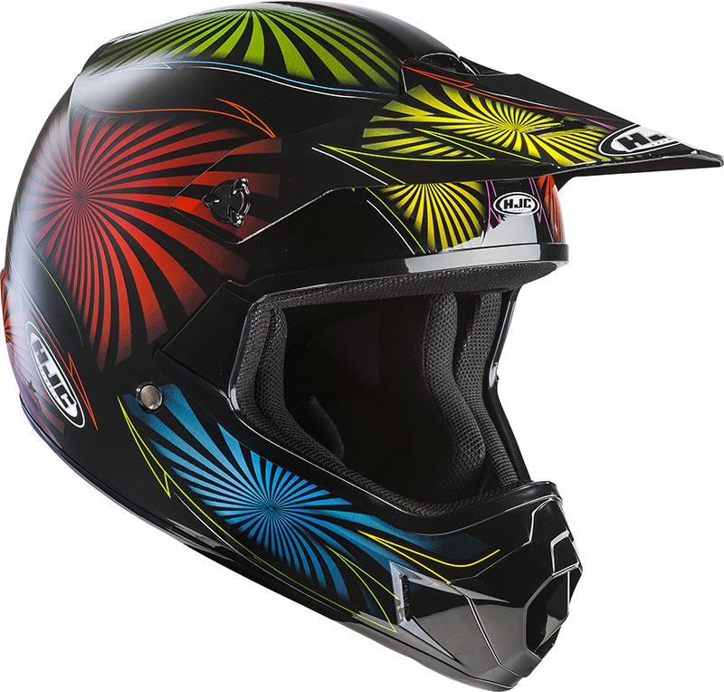Cross motorcycle helmet HJC child CLXY Whirl MC28