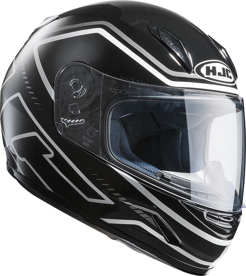 Motorcycle helmet HJC CLY integral child care MC5
